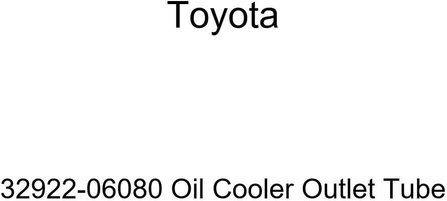 TOYOTA 32922-06080 Oil Cooler Outlet Tube
