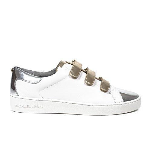 Damen Schuhe Sneakers MICHAEL KORS Craig Sneaker Leather OPTPLGOLD Leder Neu