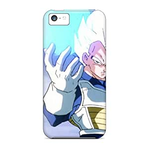 Ultra Slim Fit Hard NicoleRStull Case Cover Specially Made For Iphone 5c- Vegeta Dragon Ball Z