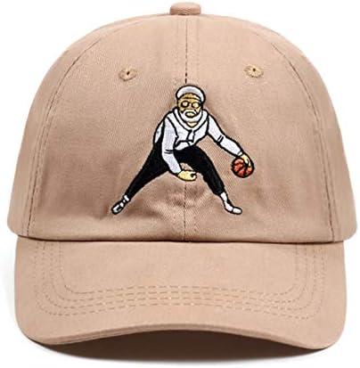 Fnito Beisbol Gorra Tío Drew Dad Hat Tan Baloncesto Comedia Gorra de béisbol Kyrie Irving Snapback Gorras Algodón Bordado Hip Hop Hueso Unisex