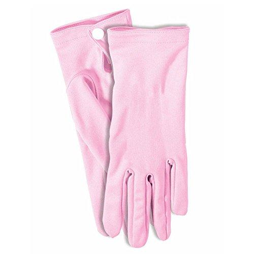 Womens Pink Glove (Women's Short Gloves Pink (9