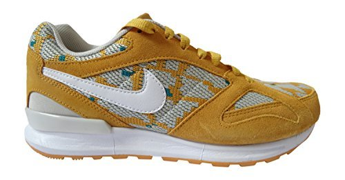 NIKE air Pegasus New Racer PA Mens Running Trainers 749669 Sneakers Shoes (UK 8 US 9 EU 42.5, Canyon Gold White Radiant Emerald 700)