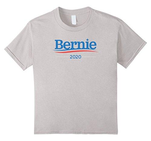 Kids Bernie Sanders For President In 2020 T Shirt 8 Silver