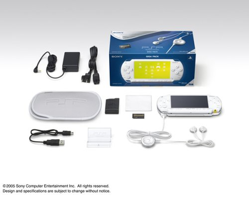 PSP本体 ギガ・パック [セラミック・ホワイト]の商品画像