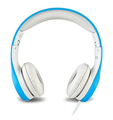 Nenos Children Headphones Kids Headphones Children's Headphones Over Ear Headphones Kids Computer Volume Limited Headphones for Kids Foldable