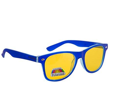 Correction entièrement protection jaune marron lentilles unisexe Blue soleil uV400 füllend femmes écaille 4sold soleil de Night hommes lunettes lunettes nuit Polarized Rubi driving de dpwafZ