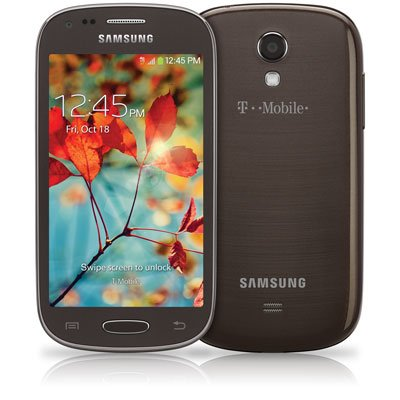 Samsung Galaxy Light Smartphone SGH-T399 - Brown (T-Mobile)