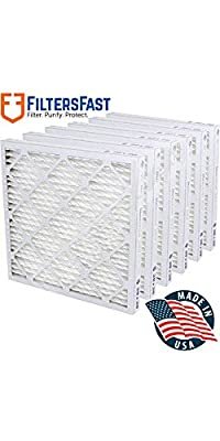 """1"""" Pleated Air Filter Merv 13 - 6 pack by Filters Fast"""