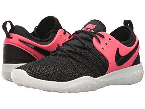 Nike Free TR 7 amp Womens Cross Training Shoes (5 B US, Black Solar Red 011)