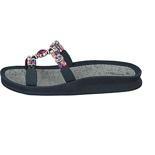 Linea Scarpa ATOKOS Moderno Zapatillas Baño Sandalias Mujer azul marino