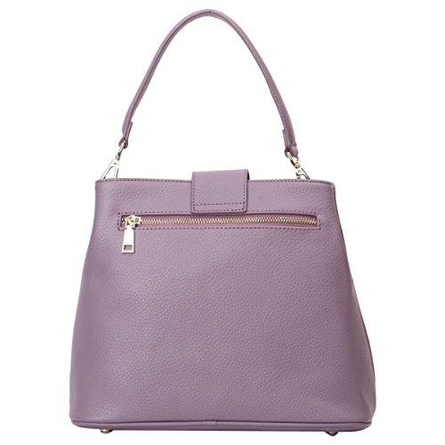 Lederleiter Europa Damen-Handtasche Ledertasche Shopping-Tasche Abendtasche Vintage