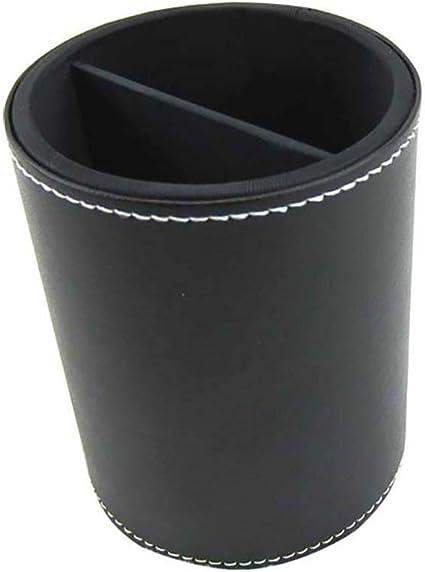 Estuche para brochas de maquillaje, 11 x 9 cm, color negro: Amazon.es: Belleza