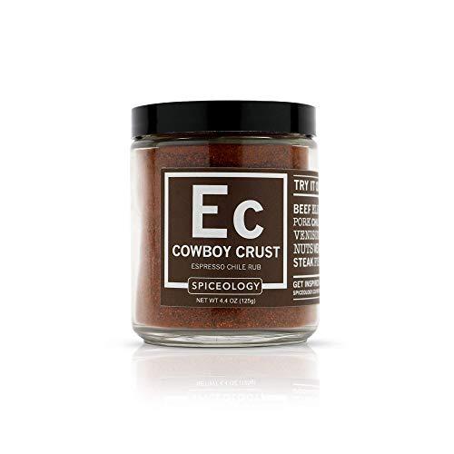 Cowboy Crust - Spiceology Espresso Chile BBQ Rub - Steak Seasoning - 4.4 ounces