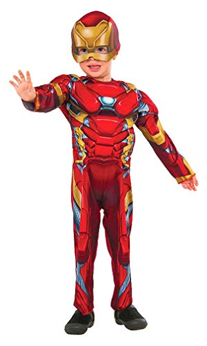 Iron Man Muscle Chest Boys Toddler Halloween Costume -