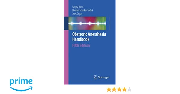 Obstetric anesthesia handbook 9780387886015 medicine health obstetric anesthesia handbook 9780387886015 medicine health science books amazon fandeluxe Image collections