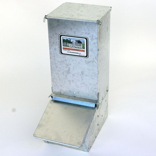 Brower 11H Single Door Supplement Hog Feeder by Brower