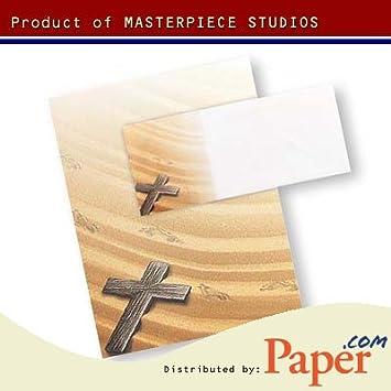 Amazon.com: Obra maestra Crossing Letterhead – 8.5 x 11 ...