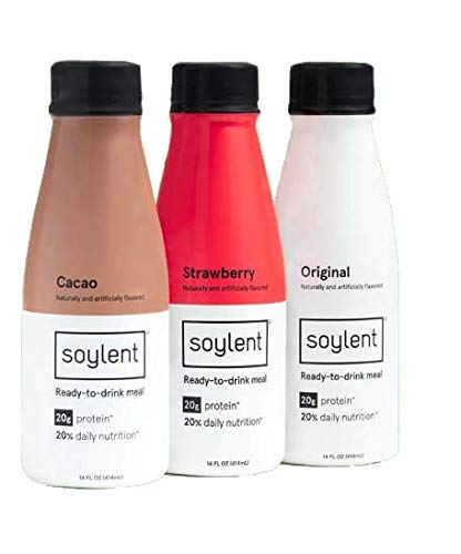 Soylent Meal Replacement Shake, 6 Flavor Variety Pack (Pack of 36) (Packaging May Vary) by Soylent Beverages (Image #1)