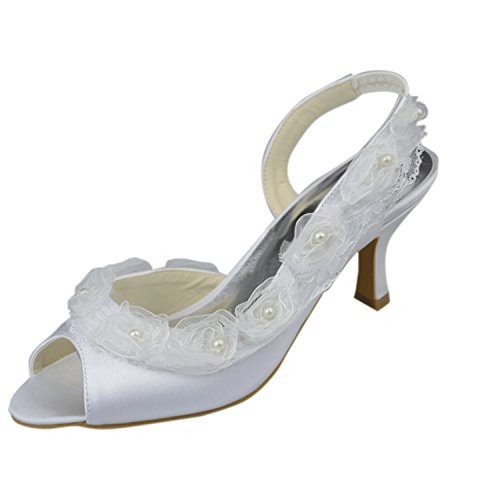 boda Kevin de mujer fashion Fashion Zapatos marfil Etrxw8EqO