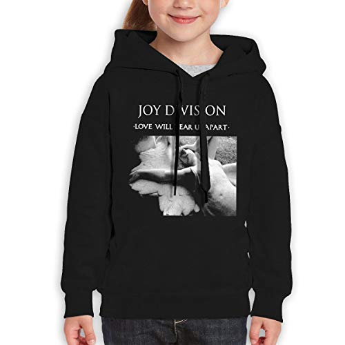 AlbertV Joy Division Love Will Tear Us Apart Youth Hoodies Sweatshirt for Boys and Girls Black M by Albert V. Chloe