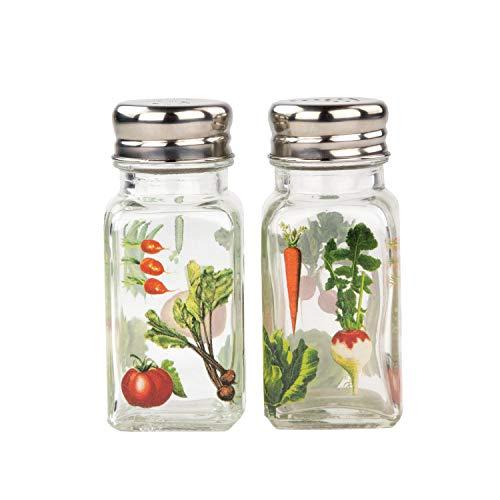 Michel Design Works Salt and Pepper Set, Vegetable - Design Vegetable