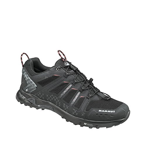 Mammut T Aenergy Low GTX Men (Backpacking/Hiking Footwear), Farbe:black-dark lava;Größe:13 UK / 48 2/3 EUR