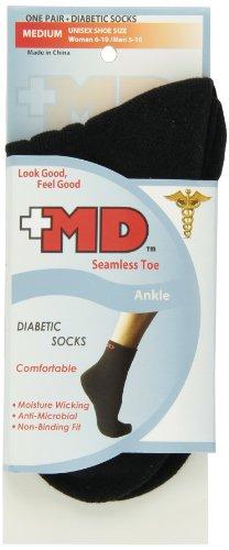 Wave Diabetic Seamless Ankle Medium