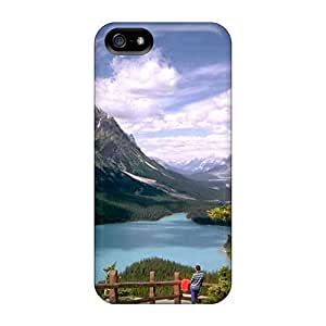 TerryMacPhail Cases Covers For Iphone 5/5s - Retailer Packaging Alaskan Mountain Protective Cases