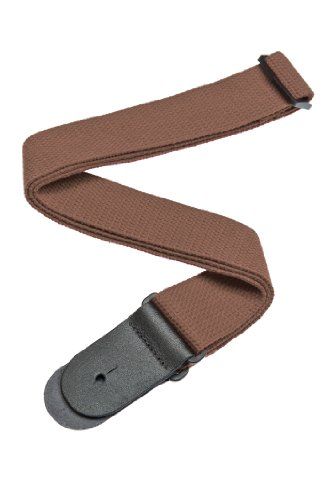 (Planet Waves Cotton Guitar Strap, Brown)