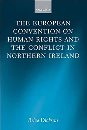 Amazon Com The European Convention On Human Rights And border=