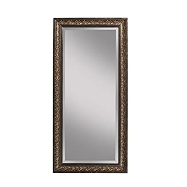 Sandberg Furniture Andorra Full Length Leaner Mirror, Cognac Ash