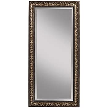 Xl long full length silver wall floor mirror for Silver long mirror