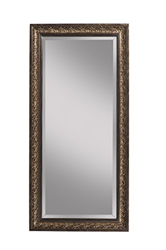 Sandberg Furniture Cognac Ash Full Length Leaner Mirror,