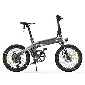 41NQ8nKGB0L. SS300 Fangteke Biciclette elettriche, Bici Pieghevoli per ciclomotori per Adulti, 3 modalità di Guida, HIMO C20, 25 km/h…