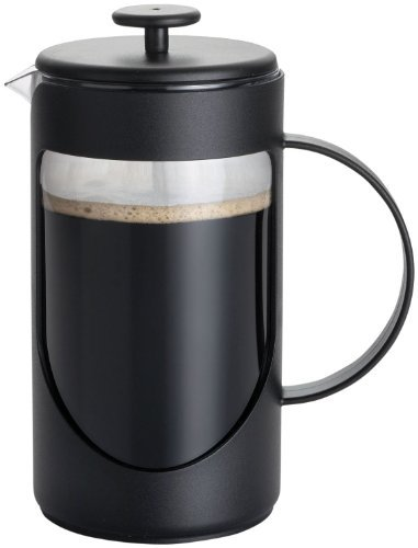 BonJour 3-Cup Ami-Matin Unbreakable French Press-Noir Black