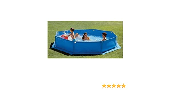 Piscina infantil desmontable basic hexagonal 250x50 cm: Amazon.es ...