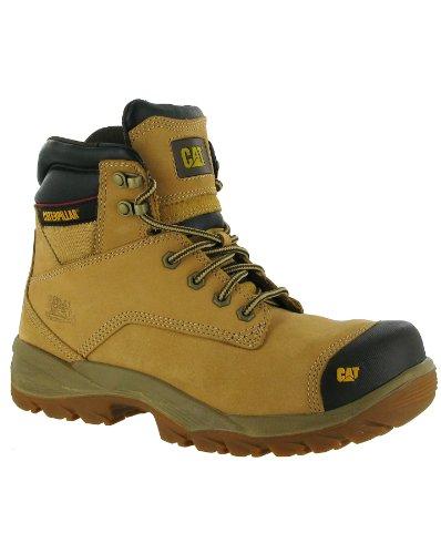 Caterpillar para hombre zapatos de Spiro botas de seguridad para motosierra de goma de tela de piel y otros New