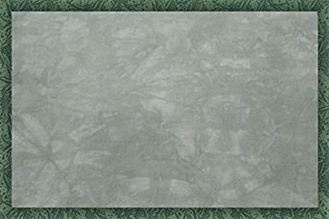 Hand-Dyed 11 Count Aida Cloth Cross-Stitch Fabric Celadon 17 x 19