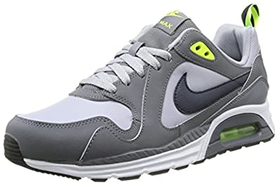 ujzgc Nike Air Max Trax Leather, Mens Running Shoes, Silver (Wolf Grey