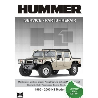 HUMMER H1 Complete Factory Service Repair Parts Manual on CD-ROM on