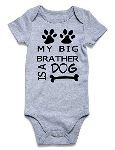 Uideazone Baby Boys Girls Short Sleeve Outfit Baby Bodysuit Onesies One Piece -