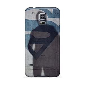 Samsung Galaxy S5 YzX1264VOhA Support Personal Customs Stylish Smallville And Superman Image Great Hard Cell-phone Cases -CharlesPoirier