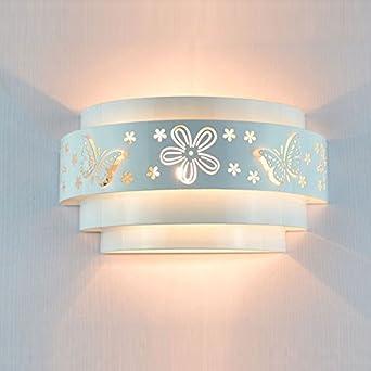 Charmant Morden Schnitzerei Wandleuchten Pendelleuchte Schmetterlings Blumen Muster  Wandlampe Geeignet Für Schlafzimmer Flur Wohnzimmer