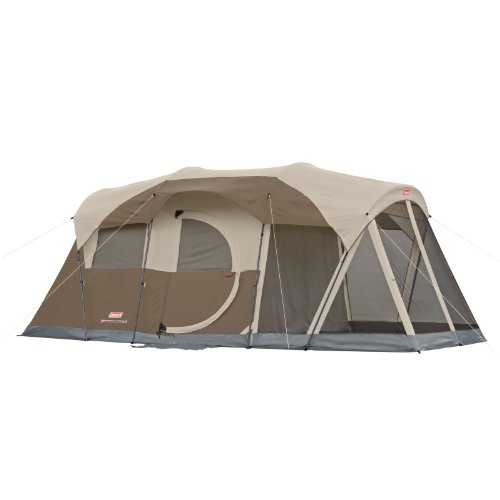 Coleman WeatherMaster 6-Person Screened Tent (Coleman 6 Tent)