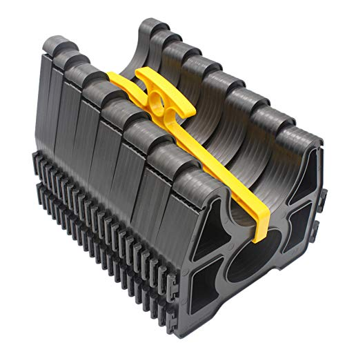 X-Haibei RV Sewer Hose Support 20 Foot for Trailer Camper 6M with Handle Sidewinder Plastic Sewer ()