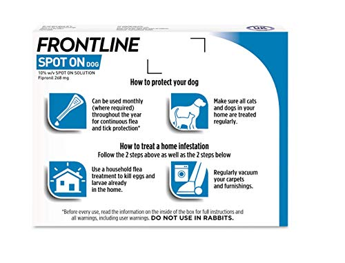 Frontline Spot On Flea and Tick Treatment for Large Dog (20-40kg) 2