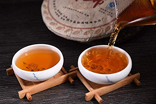2005 Yunnan Gaoxiang dry warehouse old tea clearance sale [Xigui ancient tea mountain] Xigui pure material ancient tree Pu'er tea old tea taste no different taste high cost value old tea88.18OZ 12.59 by NanJie (Image #4)