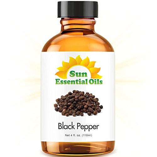 Black Pepper (Large 4 Ounce) Best Essential Oil ()