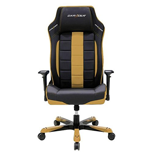 41NQCUkCCcL - DXRacer OH/BF120/NC Ergonomic, Computer Chair for Gaming, Executive or Home Office Boss Series Black / Coffee