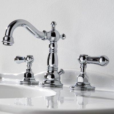 Graff Antique Brass Widespread Faucet Widespread Antique